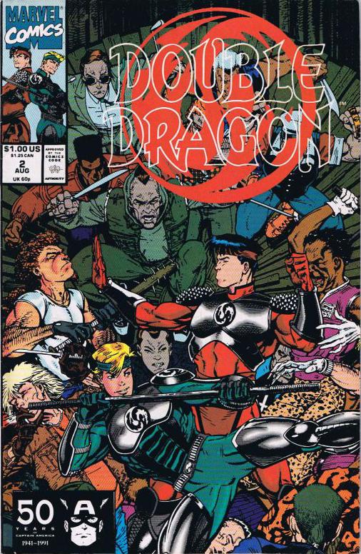double dragon 2 cover art